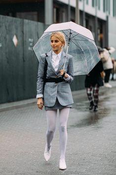 Day 4 | Street Style at New York Fashion Week Fall 2018 | POPSUGAR Fashion Photo 1
