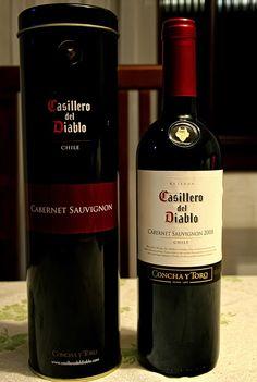 Vino Casillero del Diablo de Concha y Toro, cabernet  sauvignon