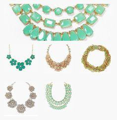 favorite kate spade statement necklaces