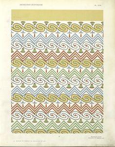31. Plafond du Tombeau de Sou-m-Nout (n° 92) From New York Public Library Digital Collections.