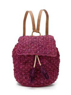 Mar Y Sol Zadie Crocheted Backpack