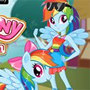 MLPEG Rainbow Dash Vs Pony Human