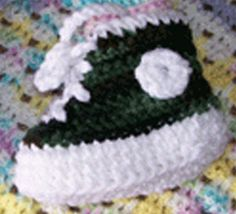 Crochet Baby Booty High Tops +