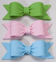 gumpaste bows
