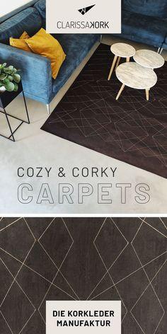 Der CLARISSAKORK Teppich ist eine Bereicherung für jeden Raum und überzeugt neben seiner edlen Optik mit vielen funktionalen Eigenschaften #pflegeleicht #hygienisch #robust #reißfest #geschmeidig #schadstofffrei #nachhaltig #teppichdesign #rugdesign #carpetdesign #wohnzimmerteppich #esszimmerteppich #minimalism #muster #naturmaterial #maßanfertigung #teppich #handgefertigt #designteppich #wohnzimmer #bad #wc #esszimmer #küche #ecohome #vegan #interior #modernliving #korkprodukte #kork #cork