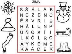 Pro Šíšu: Jednosmerky - Vanocni tematika Aa School, School Clubs, Sudoku, Homeschool, Learning, Words, Kids Learning Activities, Cuba, Studying
