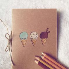 Diy cuadernos paso a paso decorados 36 Trendy Ideas Diy Craft Projects, School Projects, Diy For Kids, Crafts For Kids, Diy Agenda, Diy Dog Bed, Diy Tumblr, Cool Notebooks, Art Storage
