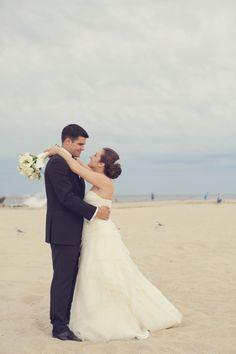 Elegant Beach Wedding at Crystal Point Yacht Club by Jaye Kogut Photography @jayek