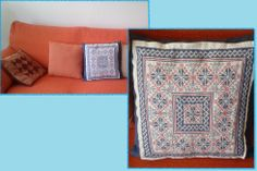 cross stitch: pillow