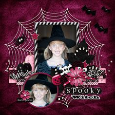 Spooky+Witch - Scrapbook.com
