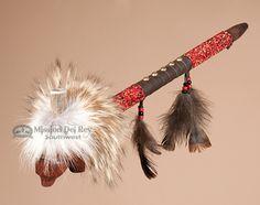 Carved Bear Creek Indian Manzanita Pipe