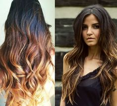LOVE THIS ONE!!! Top 7 Best Black Ombre Hair Color Ideas