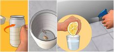 zilvervisjes-tip Interesting Information, Budget, Science And Nature, Clean House, Cleaning Hacks, Glass Of Milk, Helpful Hints, Diy And Crafts, Life Hacks