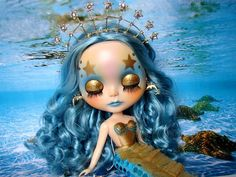 Custom Blythe Mermaid | Flickr - Photo Sharing!