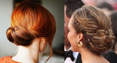 The Gibson Tuck is an elegant and sophisticated updo that has proved to be super popular amongst celebs on the red carpet and it's super easy to do this celebrity hair style at home!