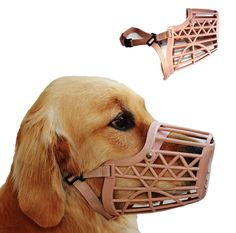 Basket Cage Dog Muzzle * Wow! I love this. Check it out now! : Dog muzzle