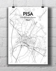 Pisa City Map
