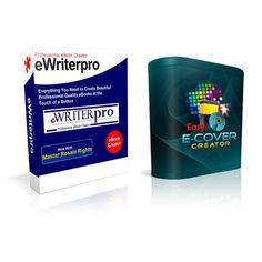 Editor de e-books/capas eWriterPro-V2 + Easy Ecover Creator       CONFIRA ➜ http://proddigital.co/1pYCfs4