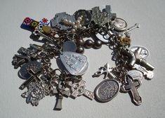 Make a nostalgic charm bracelet from eclectic trinkets.