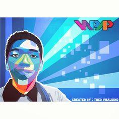 WPAP! Created by : @theovhaldino #WPAP #Vector #Art #Coreldraw #design #graphic