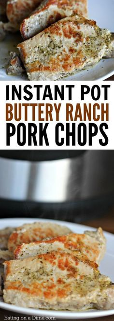Easy Electric pressure cooker recipe! You are going to love this quick and easy Instant Pot Boneless Pork Chops Recipe. This delicious ranch pork chops recipe is packed with flavor falls apart because it is so tender. You will love this easy pork recipes!