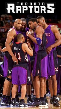 Vince Carter, Tracy McGrady, Charles Oakley, Marcus Camby and Muggsy Bogues