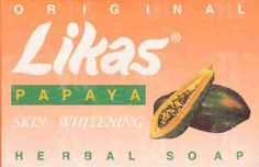 Likas Papaya Skin Whitening Herbal Soap by Likas. $3.69. First Filipino Pure ORGANIC Herbal Soap. For clearer and finer skin complexion. Enriched with Papaya enzyme and blended with tropical herbs to whiten the skin. Enriched with 100% organic herbs Papaya enzyme and blended with tropical herbs that whiten the skin. Likas Papaya Skin Whitening. Product of the Philippines. Net Weight: 2.5 oz.. Save 14%!