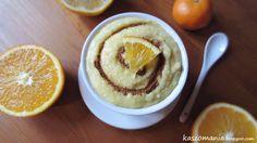 Pomarańczowo-cynamonowy mus z kaszy jaglanej