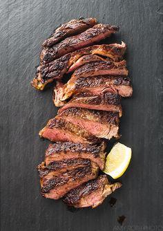 Cast Iron Steak | Amy Roth Photo