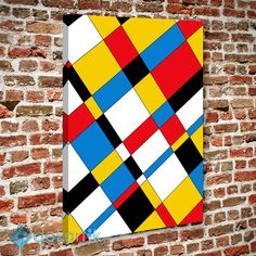 Renk Mozaik Tablo #geometrik_tablolar #geometrik_kanvas_tablolar