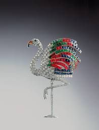 The flamingo Brooch, sold recently on Auction and previously owned by the Duchess of Windsor