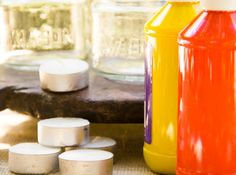Mason Jar Tea Lights by Moonfrye.com