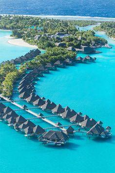The St. Regis Bora Bora Resort—Yes Please!