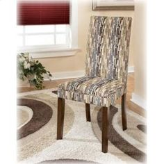 Ashley - Dining Room Side Chair (2/Cn) - D36007 - Vice Versa Furniture Collection -  Price: $129 - http://www.keyhomefurnishings.com