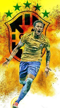 Papel de parede , menino ney ( Neymar ) brasil , copa do mundo 2018 russia #brasil #futebol #neymar #psg