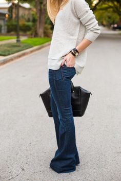 A PIECE of TOAST // Lifestyle + Fashion Blog // flare jeans