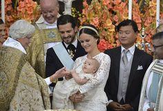 The baptised of Prince Alexander of Sweden
