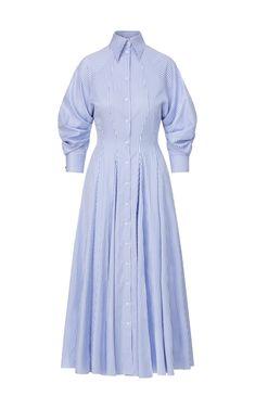 Cotton Shirt Dress, Maxi Shirt Dress, Day Dresses, Dresses For Work, Brandon Maxwell, Iconic Dresses, Fashion Line, Hijab Fashion, Fashion Outfits