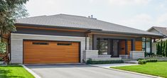 David Small Designs is an award winning custom home design firm. See a portfolio of our Modern Bungalow project Modern Bungalow House Design, Modern Bungalow Exterior, Modern Exterior House Designs, Bungalow Homes, Dream House Exterior, Modern House Plans, Exterior Design, Bungalows, Exterior Stairs