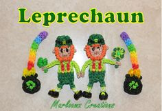 Rainbow Loom Leprechaun - St. Patrick's Day Tutorial - ( Irish )