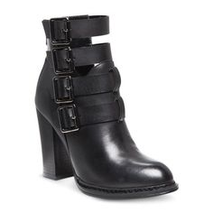 Women's Laundry List® Strappy Booties - Black
