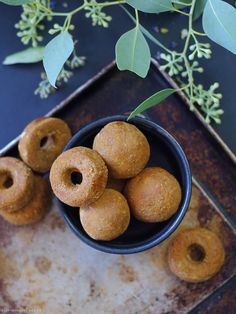 Cinnamon Oat Cookie Dough Bites (No-Bake and Free From: gluten, dairy, nuts, oils, refined sugar)