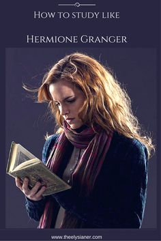 How to study like Hermione Granger #studytips #backtoschool #hermione #study