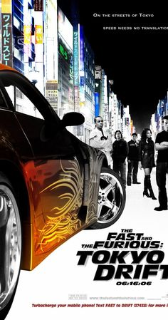The Fast and the Furious: Tokyo Drift (2006)    104 min  -  Action   Crime   Drama