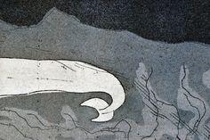 Balena Calcografia Giclée di PlumPlumCreations su Etsy
