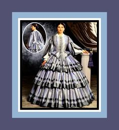 Exquisite Southern Belle Dress -Designer Costume Sewing Pattern- Civil War Era -Size 14-20-Uncut- Out of Print-Rare by FarfallaDesignStudio on Etsy