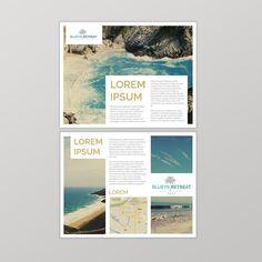 Luxury Resort - promotional flyer by alexa.g