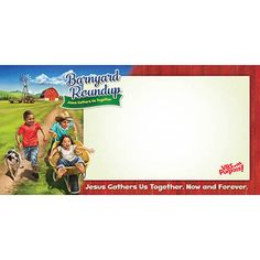 VBS-Barnyard Roundup-Indoor/Outdoor Banner