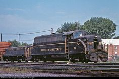 RailPictures.Net Photo: 82 Western Maryland Railway EMD BL2 at Hagerstown, Maryland by Dave Burroughs