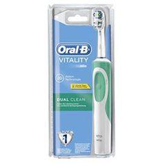 Oral-B Vitality Dual Clean – Brosse à Dents Électrique Rechargeable – Minuteur Intégré